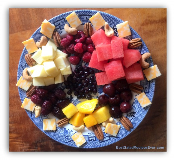 Watermelon and Berries Salad
