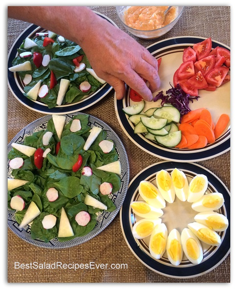 Creating Beautiful Salads