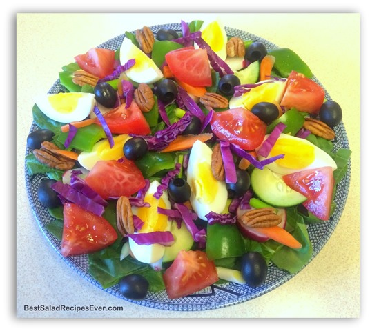Green Pepper Salad Recipe