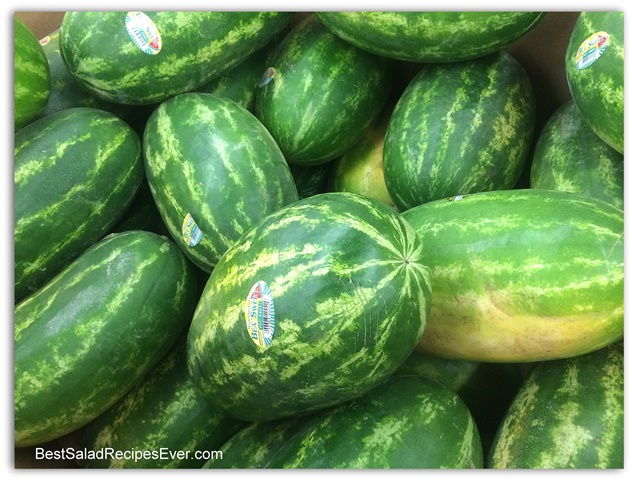 How To Select a Watermelon