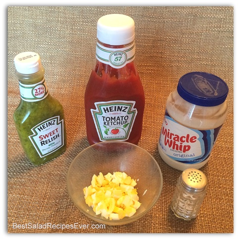 Thousand Island Dressing Ingredients