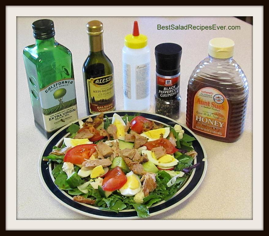 Homemade Oil and Vinegar Dressing