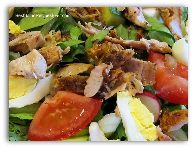 Left Over Rotisserie Chicken Salad Ingredients