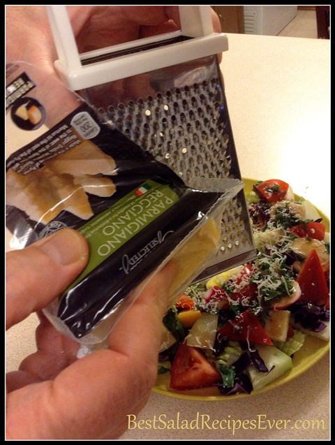 Parmesan Cheese Salad Ingredient